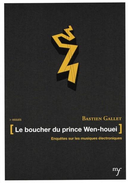 Le boucher du prince Wen-houei - Bastien Gallet - éditions MF