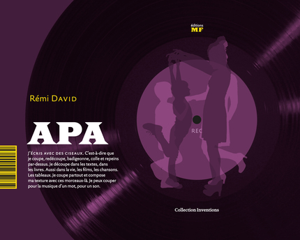 APA - Rémi David - éditions MF