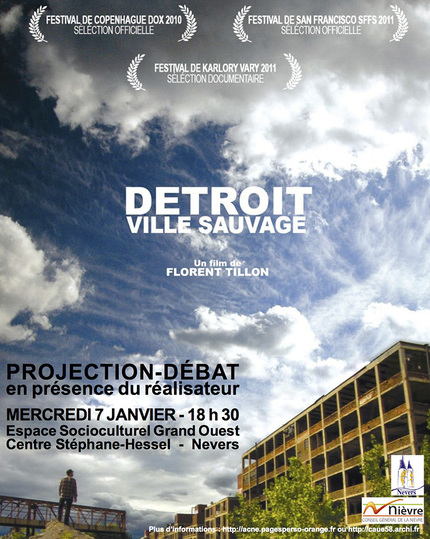 Detroit ville sauvage -  - éditions MF