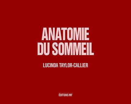 Anatomie du soommeil -  - éditions MF