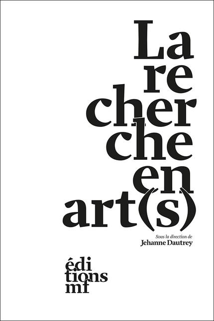 La recherche en art(s) -  - éditions MF